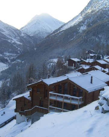 Stunning resale chalet in Saas Fee - Switzerland